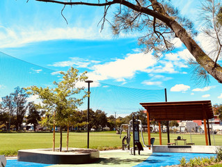 New Fitness Hub at Charles Cane Reserve.