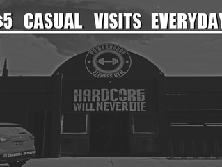 $5 Casual Visits Everyday All Day