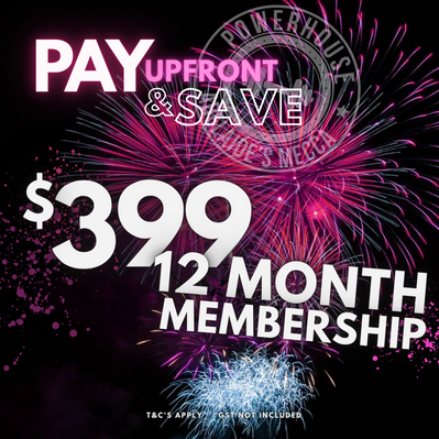 Pay up front for 12 Months and SAVE!