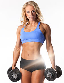 Powerhouse Gym's Bootcamp Instructor and Personal Trainer, Antoniette Spinello.
