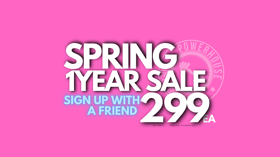 Spring $299 Membership Sale