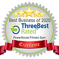 Rated as Top 3 Gym in 2020 by Three Best Rated. Thank you for the support.