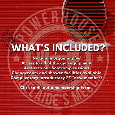 Whats included in our membership