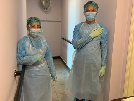 Managing a nursing home during the COVID-19 pandemic