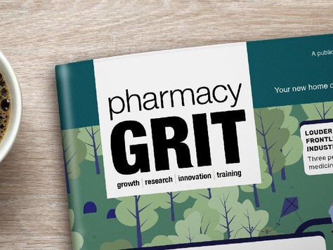 Sandip Manku contributes to the Autumn issue of GRIT Pharmacy Magazine