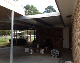 Custom Sheet Metal Of Louisiana Products Patio Covers