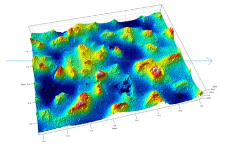 Sand Paper Image on Rtec Universal Profi