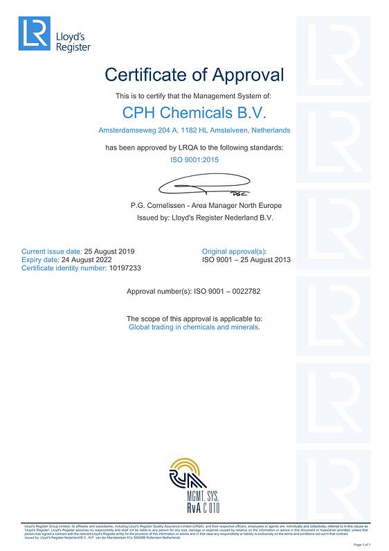 ISO CERTIFICAAT CPH CHEMICALS 2019.png