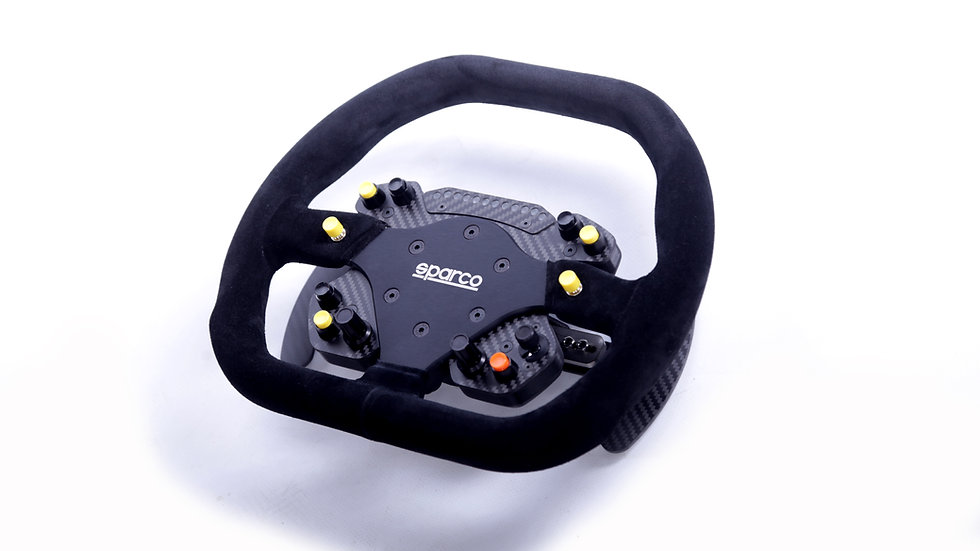 GT2 Button Plate Carbon