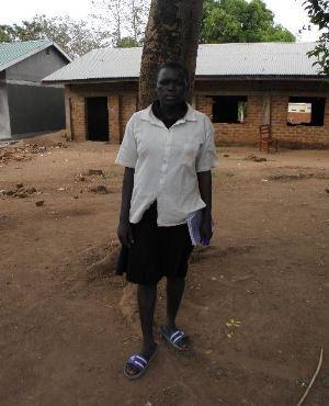 Opan attending school
