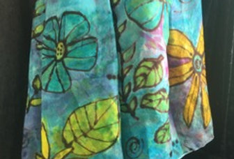 Advanced Silk Painting with Andra Kay, Fall 2021