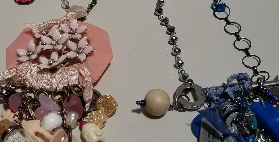 Found Objects Necklace with Lora Wheeler, July 17