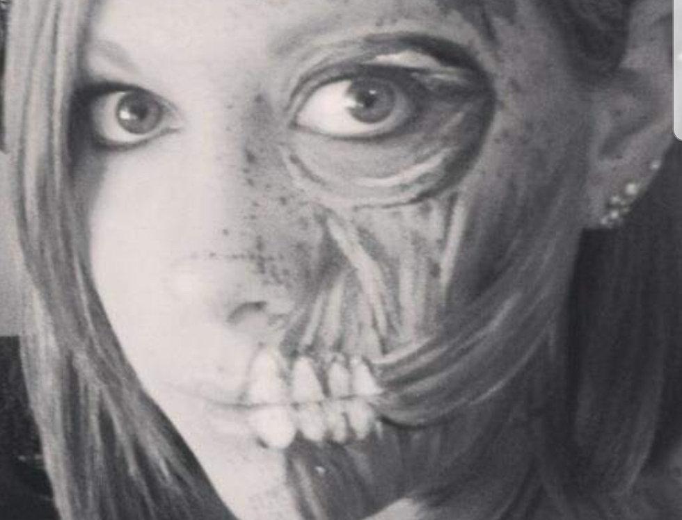Halloween Makeup, October 9