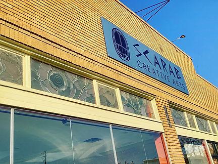 Scarab Creative Arts Facade