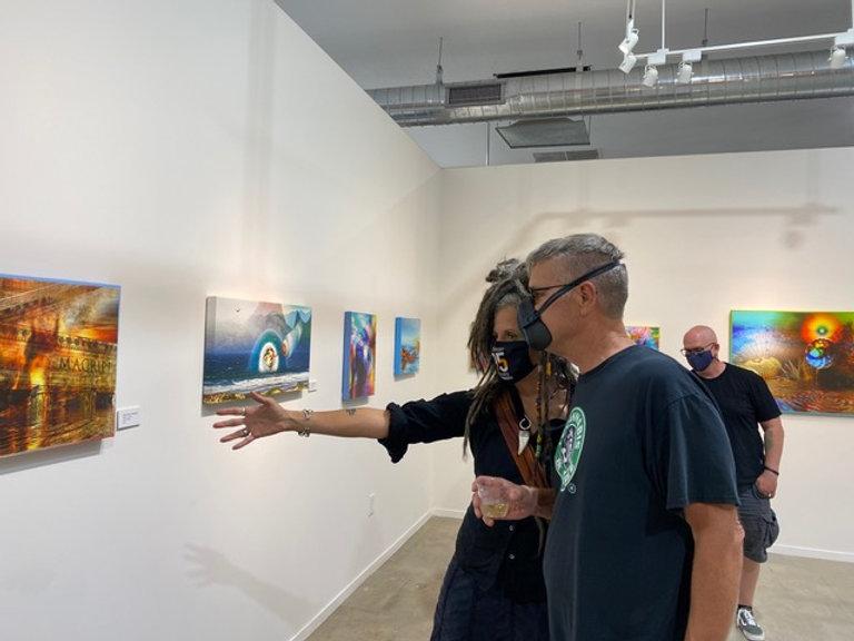 Guests viewing Steve's Art.jpeg