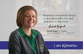 I Am Komatsu Rachelle Reigard