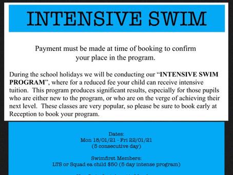 Intensive Swim