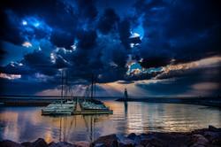 Sunset On Lake Hefner #13