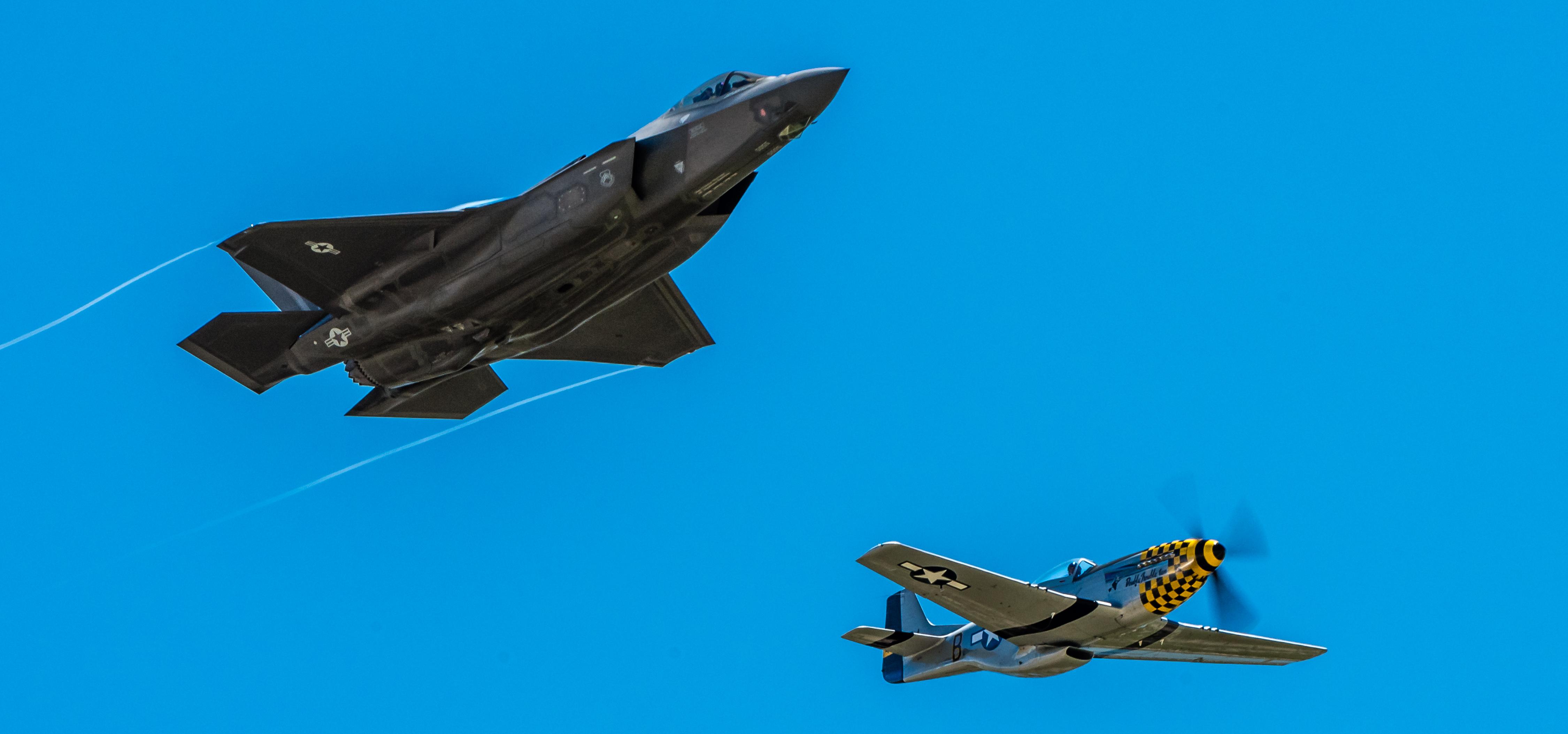 F-35, P-51