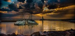 Sunset On Lake Hefner #10