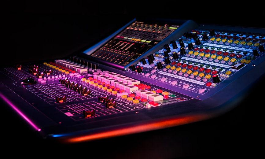 concert sound console, products