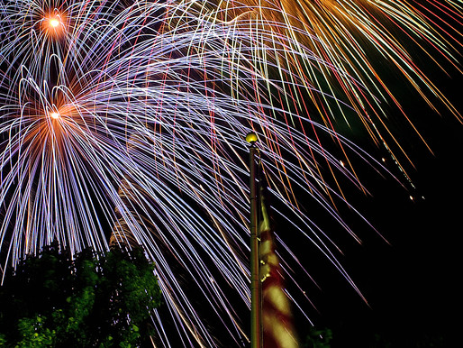 The Fourth of July -- FIREWORKS!!! -- Photos With A Twist.