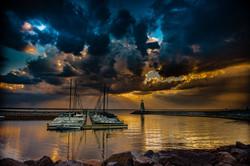 Sunset On Lake Hefner #11