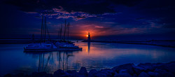 Sunset On Lake Hefner #7