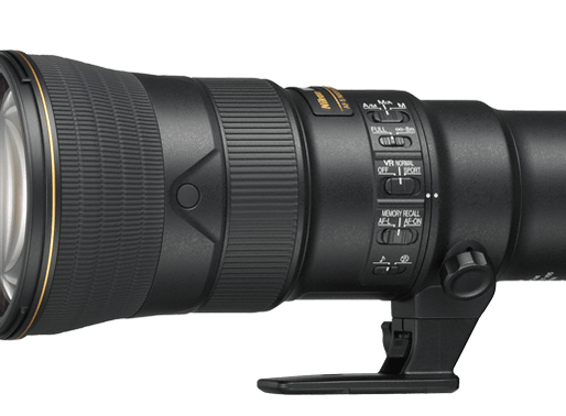 The Nikon AF-S NIKKOR 500mm f/5.6E PF ED VR Lens . . .