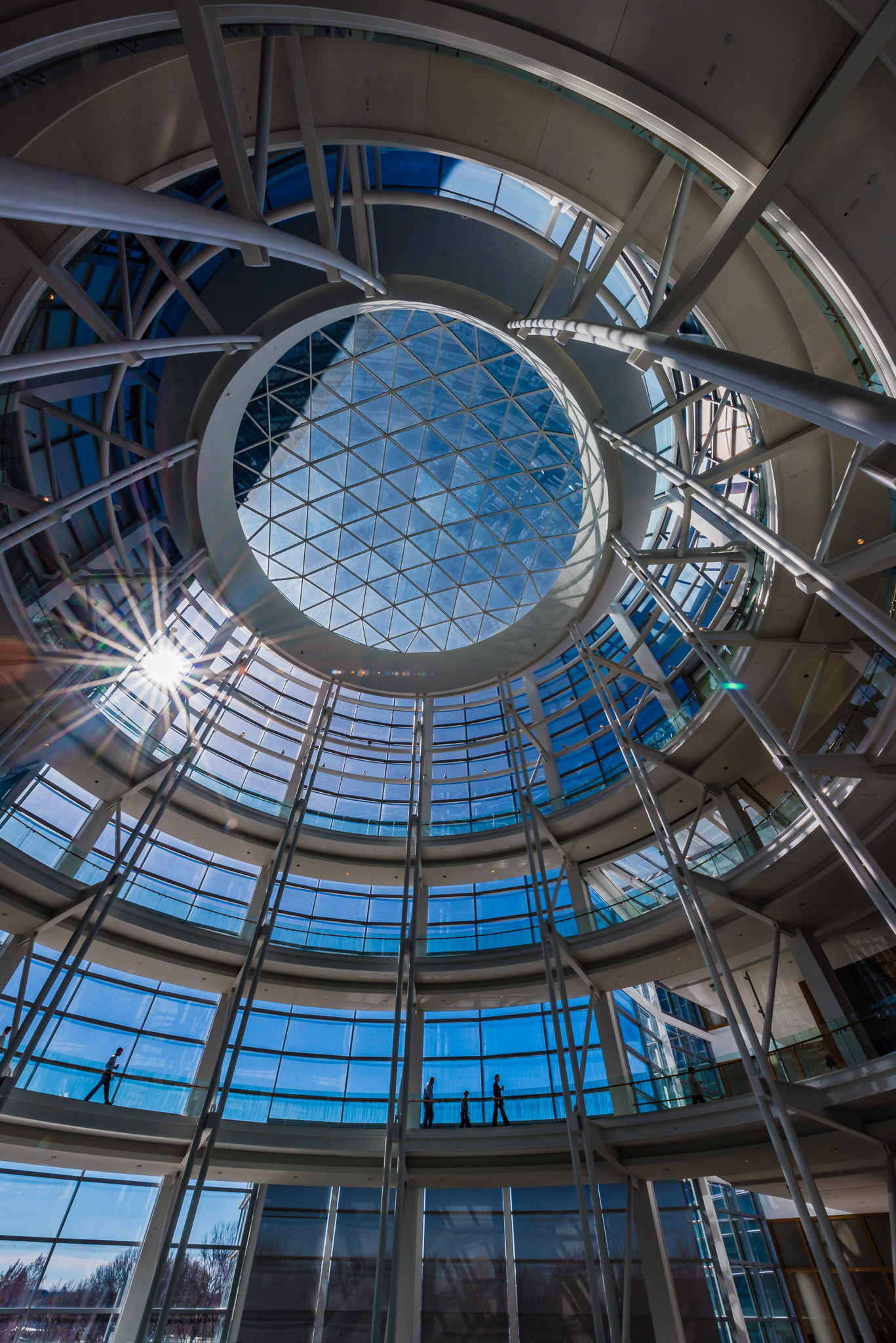 OKC's Devon Tower Atrium