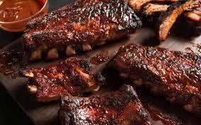 Pork spare ribs.