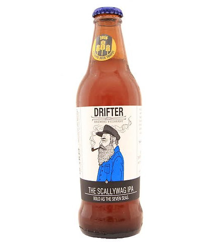 The Scallywag IPA (case of 12) - Drifter Brewing Company