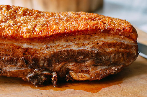 Pork belly, whole or deboned.