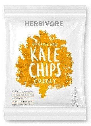 Herbivore - Organic Raw Cheezy Kale Chips. 25g.