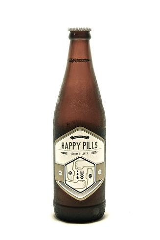 Woodstock Brewer Happy Pils