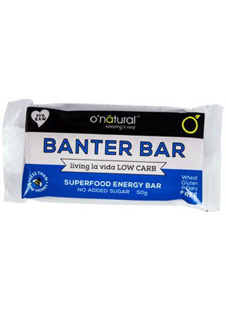 O'Natural - The Banter Bar. 50g.
