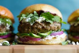 Gourmet lamb burger patties (leg and shoulder, with tail fat)