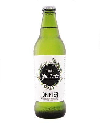 Buchu Gin and Tonic - Drifter Brewing Company
