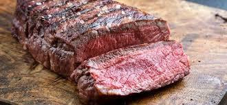 Sirloin steak. Bone out.