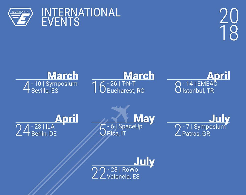 International Events - 2018