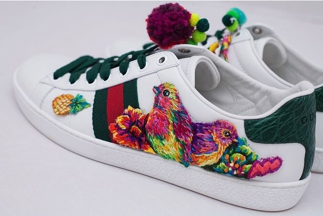 baskets 24HourAce Gucci
