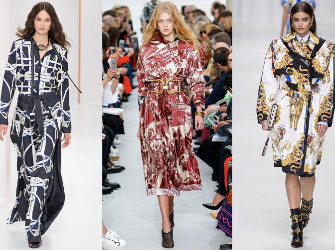 Hermès, Céline, Versace