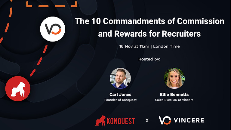 The 10 Commandments of Commission and Rewards for Recruiters