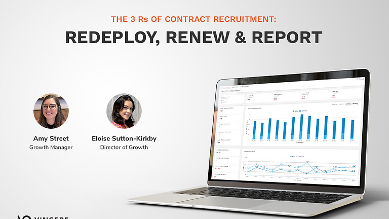 The 3 Rs of Contract Recruitment: Redeploy, Renew & Report