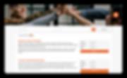 Vincere job portal summary view