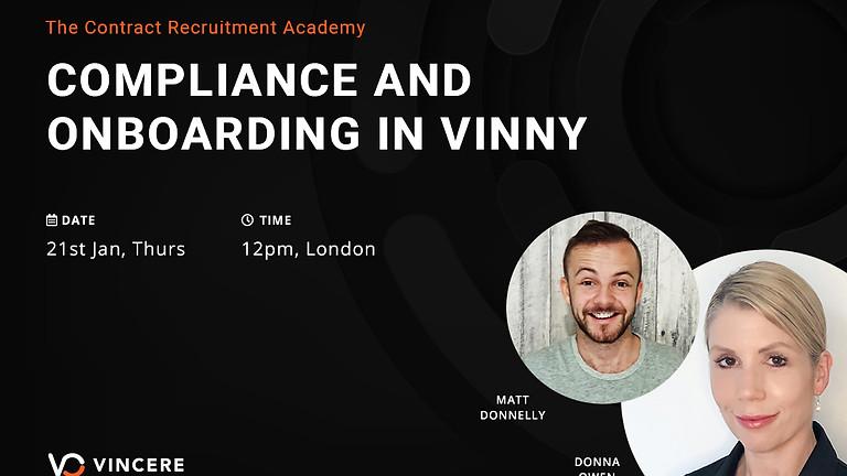 Compliance & Onboarding in Vinny
