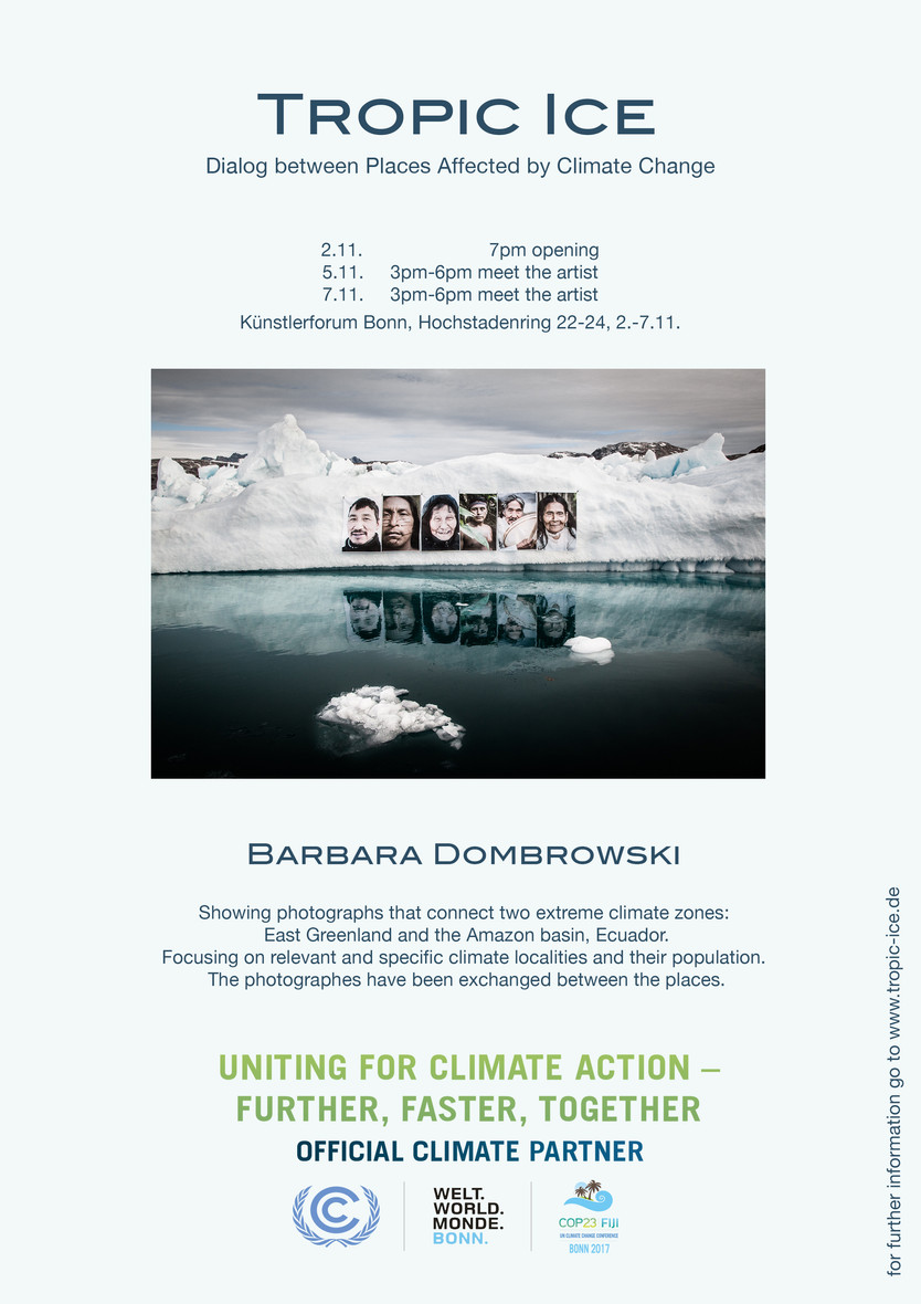 Invitation for exhibition, Bonn during COP23