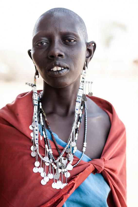 Maasai woman, Tansania