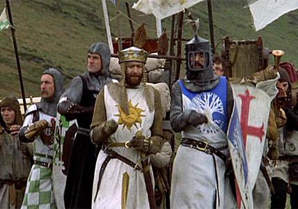 Os 26 filmes recomendados por David Fincher: 06 -Monty Python em Busca do Cálice Sagrado.