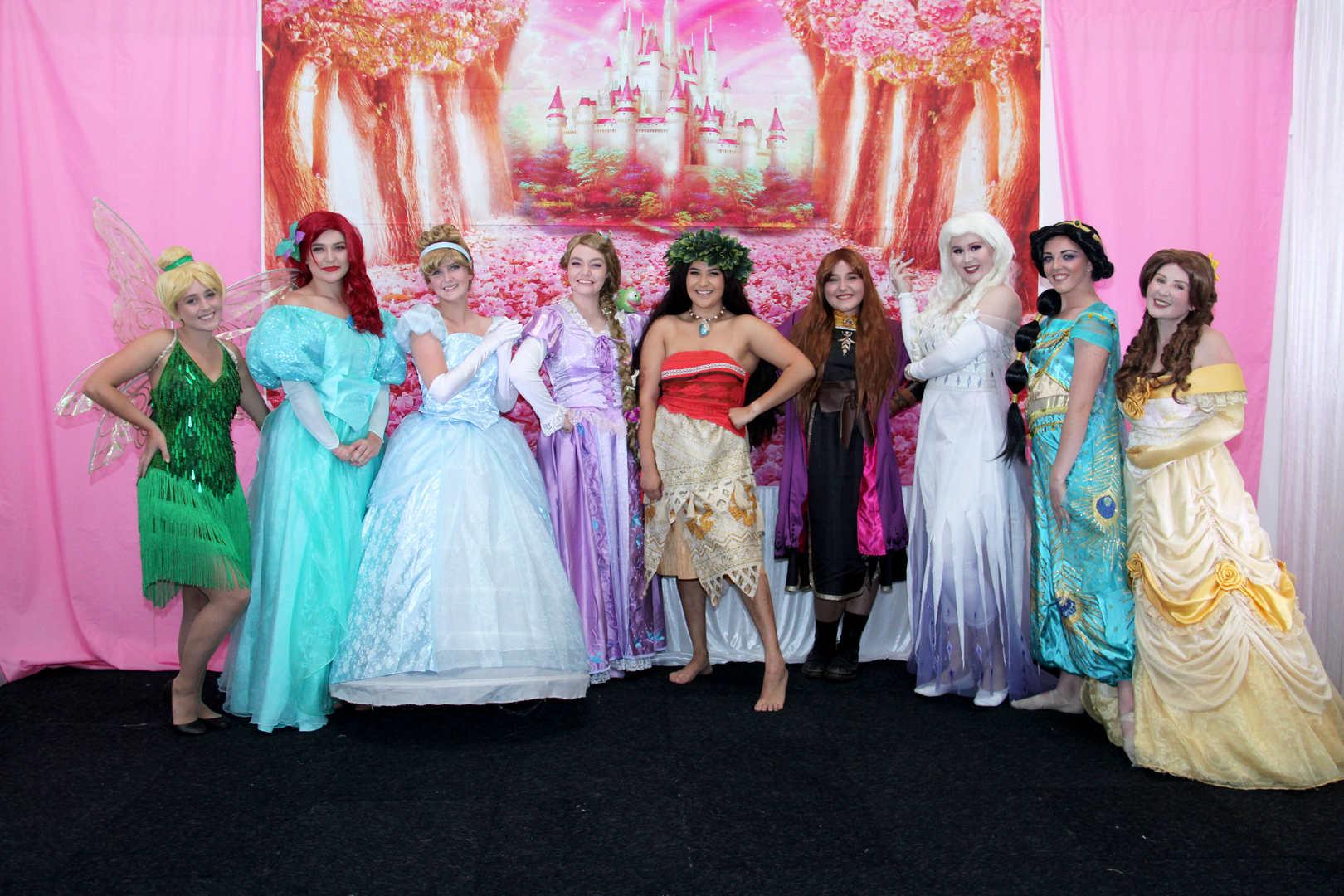 Disney Princess Party Central Coast